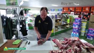 How To Cut and Prepare a Lamb - Part 2