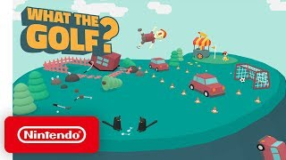 WHAT THE GOLF? - Announcement Trailer - Nintendo Switch