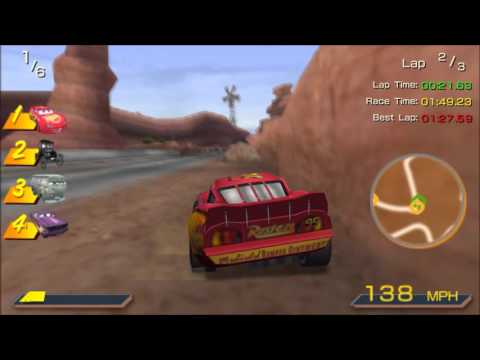 Cars Story Mode Race 7 Gameplay Walkthrough HD