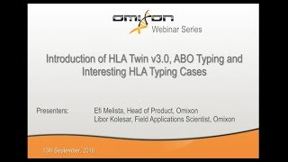 Introduction of HLA Twin v3.0, ABO Typing and Interesting HLA Typing Cases
