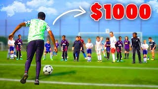 I Challenged KID Footballers To a CRAZY Football Competition