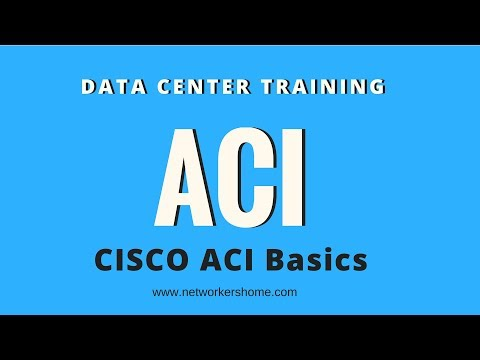 CCIE Datacenter Training - Cisco ACI Basics from Networkers Home ...