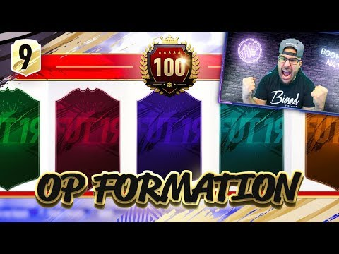 WOW MOST OVERPOWERED FORMATION! FIFA 19 Ultimate Team Draft #09
