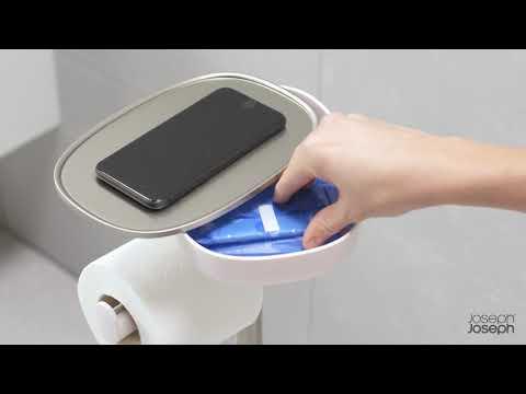 JOSEPH JOSEPH Toilettenbutler EASY STORE BUTLER PLUS mit Toilettenbürste