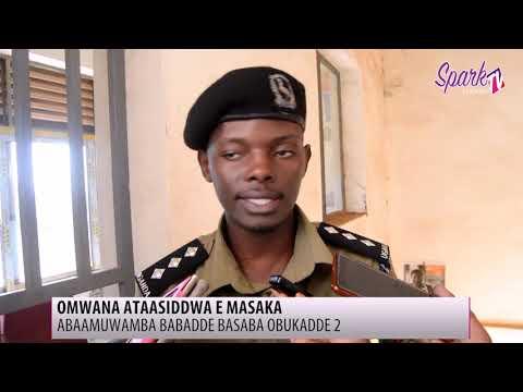 Poliisi e Masaka ekutte abadde awambye omwana