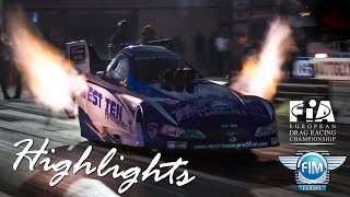 preview picture of video '2014  The Finals Highlights - FIA European Drag Racing Championships'