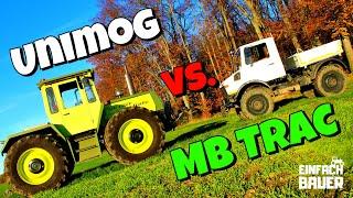 BAUERNWITZE Unimog vs MB Trac Die besten Treckersprüche