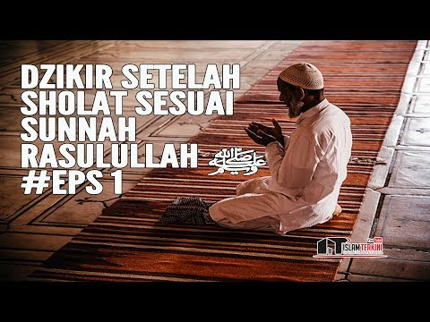 Dzikir Setelah Sholat Sesuai Sunnah Rasulullah ﷺ #Eps 1 - Ustadz Dr. Harjani Hefni, Lc. MA