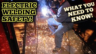 Way of the Wrench: Electric Welding Safety: How to be safe