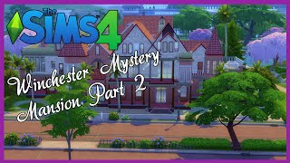 Sims 4 Speed Build | Winchester Mystery Mansion Part 2