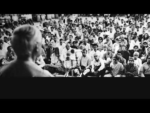 Audio | J. Krishnamurti — Bangalore 1974 - Public Talk 4 - Meditation is concerned with...