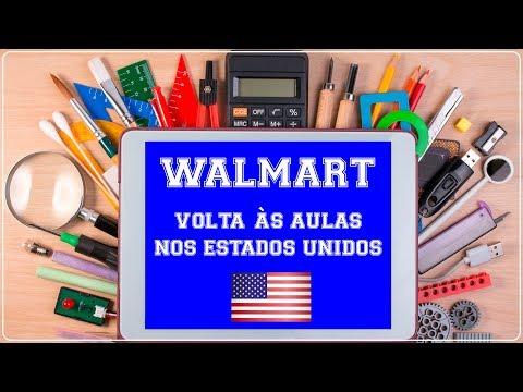 WALMART VOLTA às AULAS com PREÇOS dos MATERIAIS ESCOLARES nos ESTADOS UNIDOS!