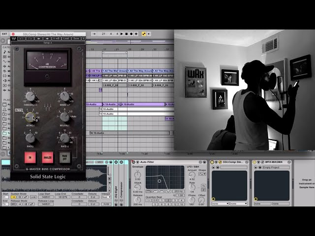 Ableton Live - How to Make a Hip Hop Song Start to Finish (Beat+Vocals)