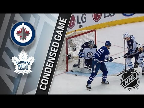 Winnipeg Jets vs Toronto Maple Leafs – Mar. 31, 2018 | Game Highlights | NHL 2017/18. Обзор