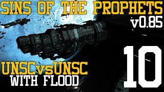 Sins of the Prophets: UNSC vs UNSC with Flood (v0.85) Part 10