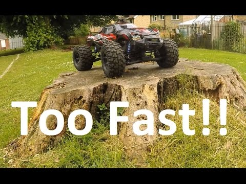 Traxxas X-MAXX Is Too Fast!