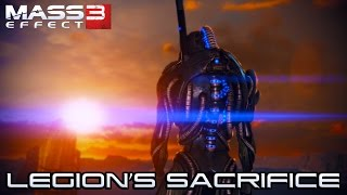 MASS EFFECT 3 - LEGION SACRIFICE - Tali Survives - Peace Geth