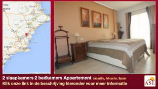 preview picture of video '2 slaapkamers 2 badkamers Appartement te Koop in Jacarilla, Alicante, Spain'
