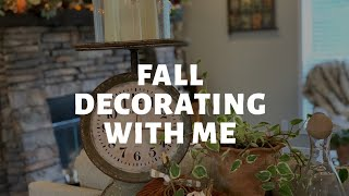 Start Fall Decorating with Me!