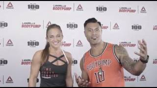 USA BODYPUMP100 SHOUTOUT