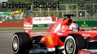 F1 2013 - Driving School - Learning The Basics