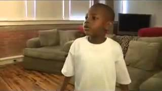 5 Year Old Kid Rapping to 2pac   Dear Mama Instrumental) Kills It !!