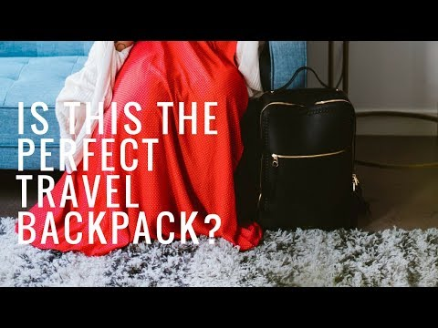Best Travel Backpack?! Calpak Kaya Laptop Backpack Review | Alyssa Mopia