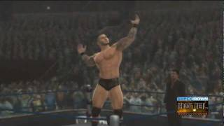 WWE '12 Randy Orton Updated Entrance [Video with Custom Lightings]