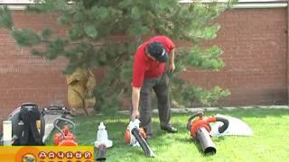 Садовые пылесосы видео