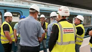 Sikeres füstpróba a Népliget metróállomáson (2020.09.02.)