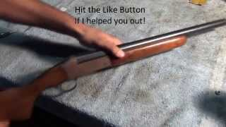 Shotgun Bead sight install: on barrel