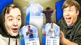 I PACKED MY FIRST ONE YESSSS - FIFA 18 ULTIMATE TEAM PACK OPENING / FUT CHAMPIONS GAMEPLAY