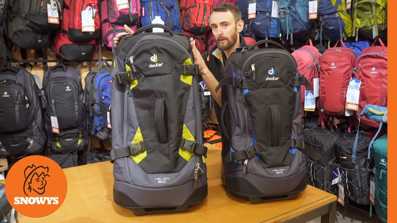 Helion 60 Wheeled Travel Pack