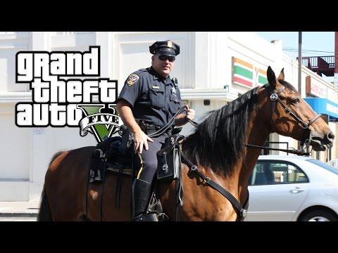 GTA 5 LSPDFR #45 - POLIZIA A CAVALLO!