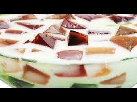 Como fazer gelatina colorida - Rápido e Fácil (Mosaico) | Preto na Cozinha