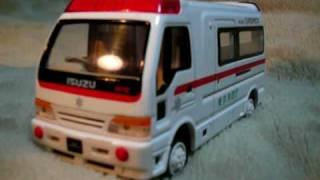 ~日本の救急車~japanese  Ambulance    Diecast Car Collection