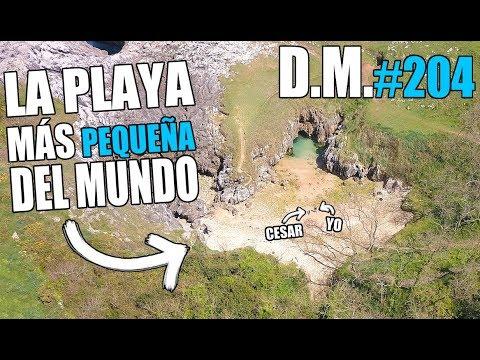 HALLAZGO SORPRENDENTE en la playa MÁS PEQUEÑA DEL MUNDO - Detección Metálica 204