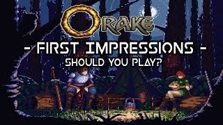 Orake 2D First Impressions Review - Should You Play?