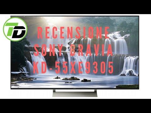 Recensione Sony Bravia XE93