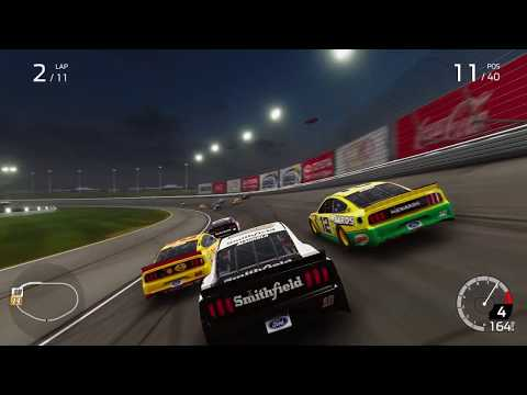 FIRST LOOK: NASCAR Heat 4 Gameplay thumbnail