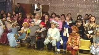 новогодний утренник 1 класс лицей Лесосибирск 2007 г. часть 2