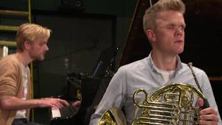 The Danish String Quartet take the Sarah´s Music Horn Challenge