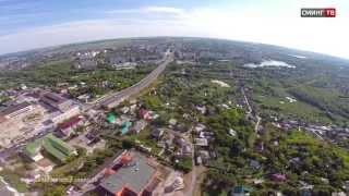 Полеты над городом Старый Оскол (Телеканал Сминг ТВ)