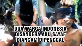 Video Dua Warga Indonesia Disandera Abu Sayaf Diancam Penggal: Presiden Saya Kena Tangkap