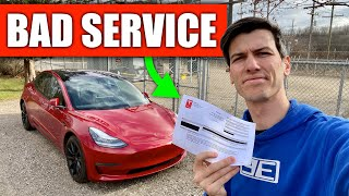 My Biggest Problem With Tesla - Service & Parts