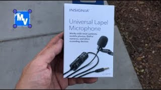 Insignia Universal Lapel Microphone Review is it worth it?