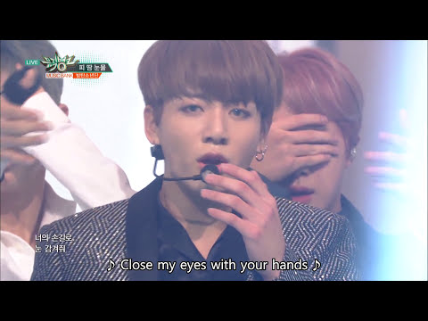 BTS (방탄소년단) - Am I Wrong, Blood Sweat & Tears (피 땀 눈물)[Music Bank COMEBACK / 2016.10.14]