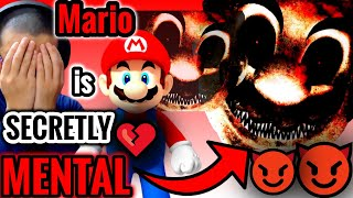 F**K THIS SH*T❗️I'M OUT❗️WHAT ARE YOU BLOODY DOING❓.. Game Theory: Why Mario is Mental, Part 1 🆁🅴🅰🅲🆃
