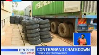 War on contraband goods intensifies as Nairobi police impound undeclared tyres