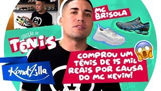 Coleção de Tênis com MC Brisola – Do Mizuno ao Balenciaga
